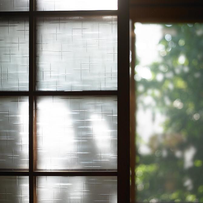 昭和のガラス