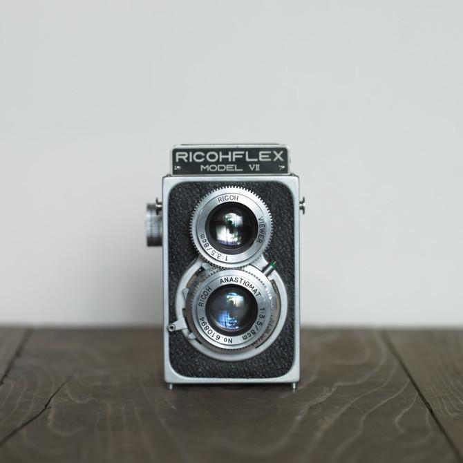 二眼カメラ リコーフレックス