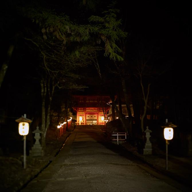 夜の日吉大社