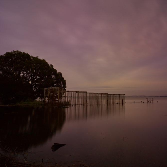 琵琶湖西岸より