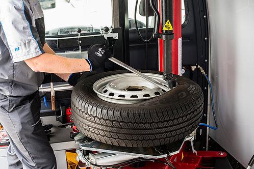 Reifenwechsel 17 Zoll