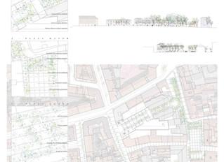 Propuesta VerdeVilla, ganadora del concurso para la remodelación de la plazas Mayor y Ágata en Villa