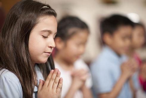 as crianças que Praying