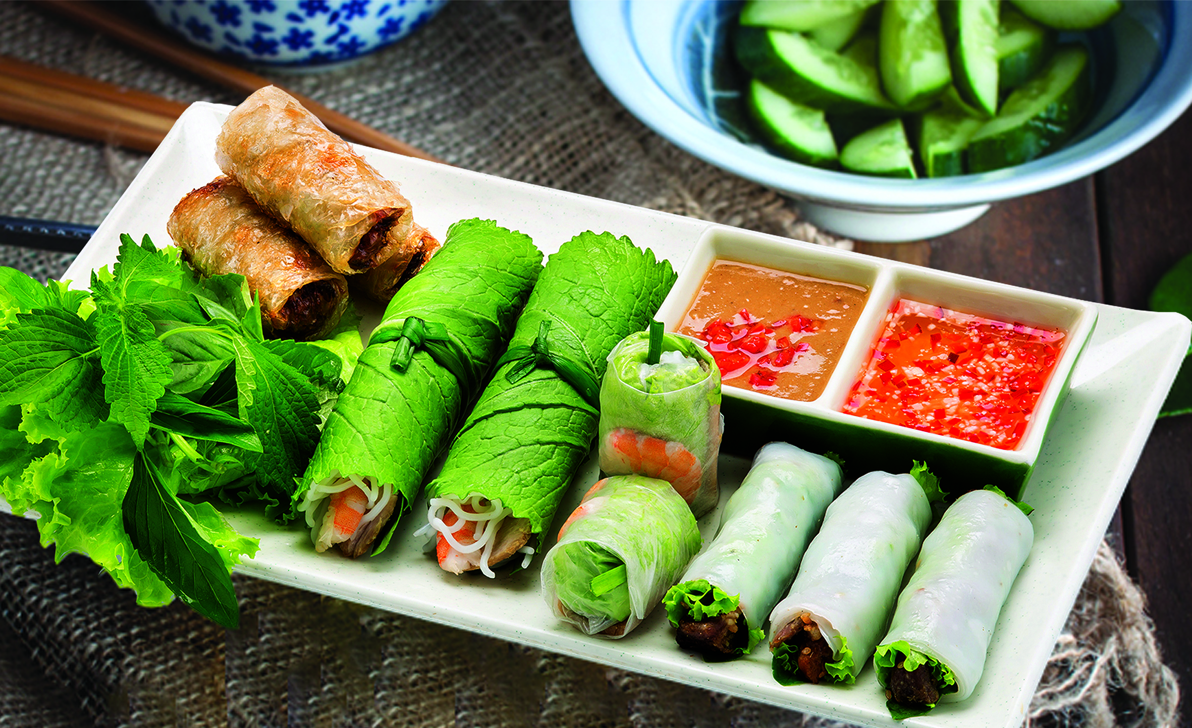 Wrap & Roll Vietnamese Restaurant Singapore