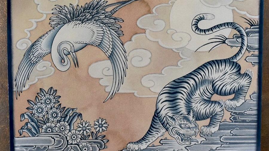 Tibetan Print 2