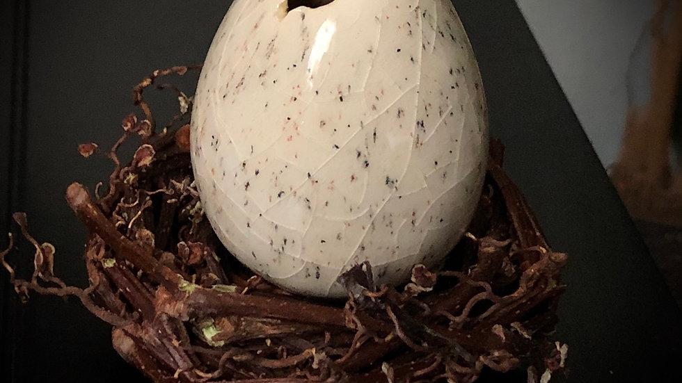 Handmade Ceramic Egg (individual) A