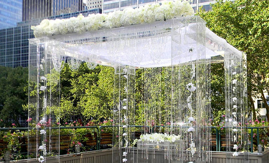 Acrylic Wedding Canopy/Chuppah
