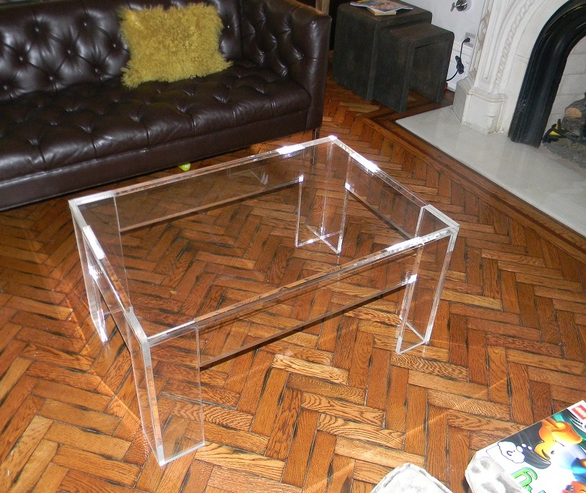 Coffee table_acrylic_Lucite_flange_ rectangle-36 x 24