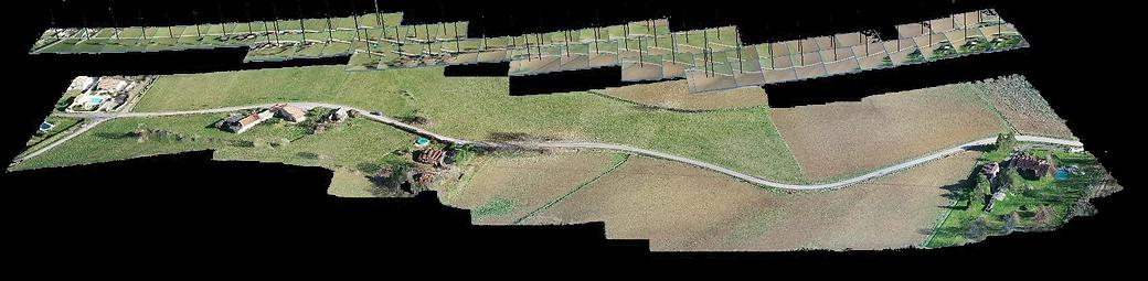 Relevé 3D par drone Agen
