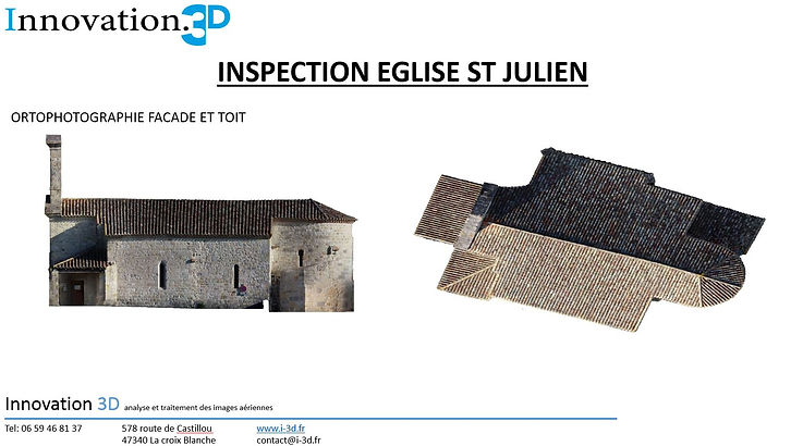 Inspection technique par drone Agen