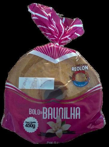 Bolo de Baunilha Reolon