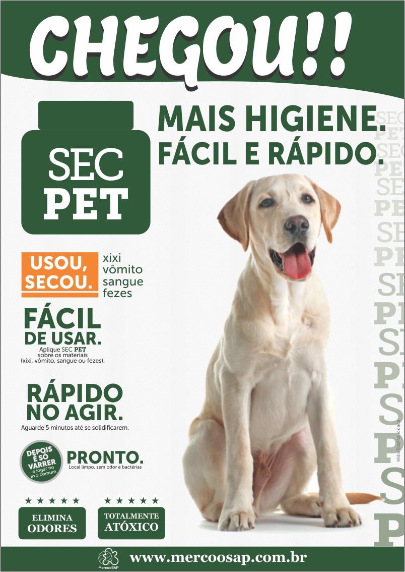 SEC PET | banner e rótulo