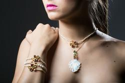 Pingo de Ouro - colares e pulseiras