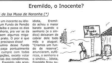 Eremildo, o Inocente? Fábula de Isa Musa de Noronha