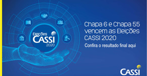 Chapa 6 e Chapa 55 vencem as Eleições CASSI 2020