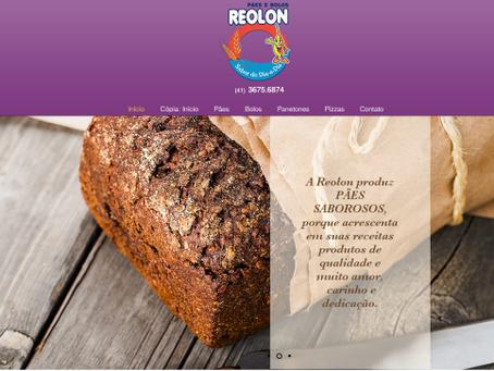 Pães Reolon    Site