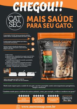 CAT SEC | embalagem e banner