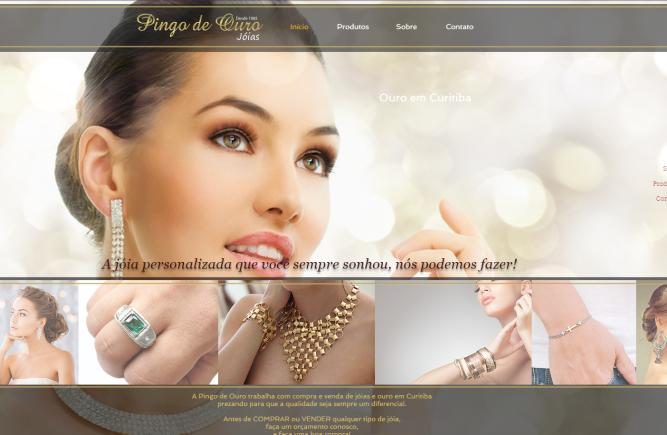 PINGO DE OURO | site