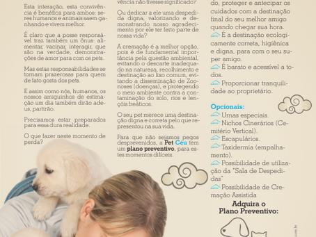 PetCéu Crematório de Animais | Anúncio