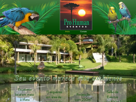ProHuman Eventos   Site