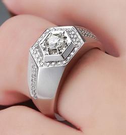 Pingo de Ouro - anéis masculinos