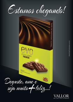 CHOCOLATE EVO | logo e embalagem