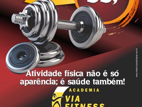 Academia Via Fitness | Panfleto