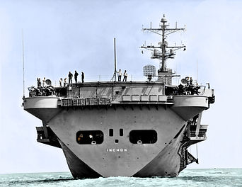 USS Inchon 5-11-1970 Sea Trials