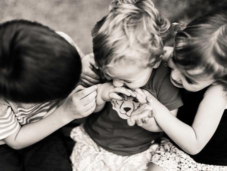 Brisbane Child Photographer | Angus + Molly + Sid