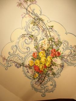 Fresco on the ceiling