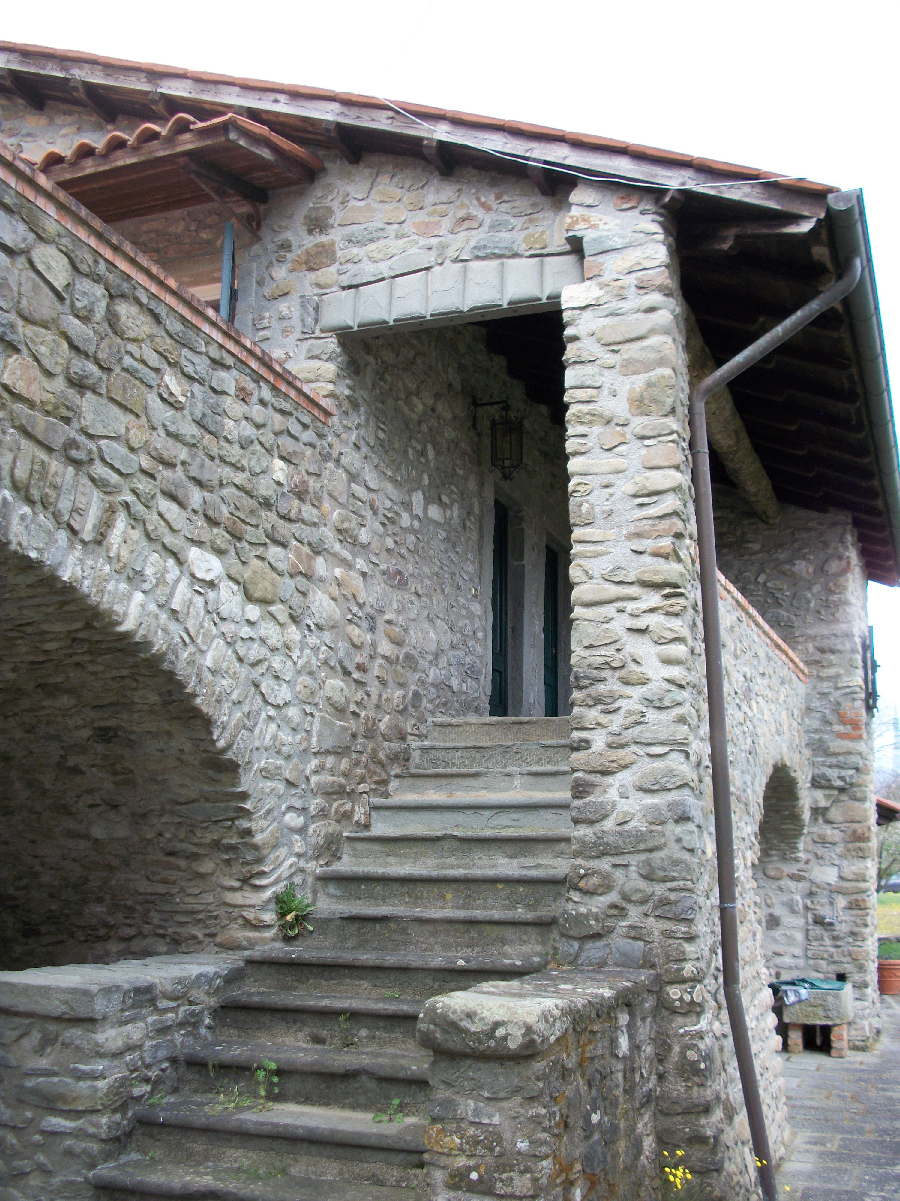 Stairs up to Gradile