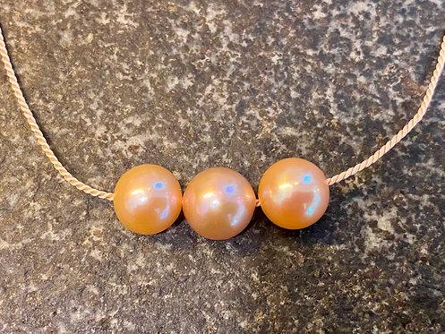 Peach Edison Pearls