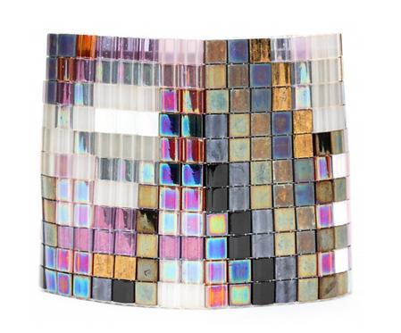 Sydney Loom-Beaded Tile Cuff