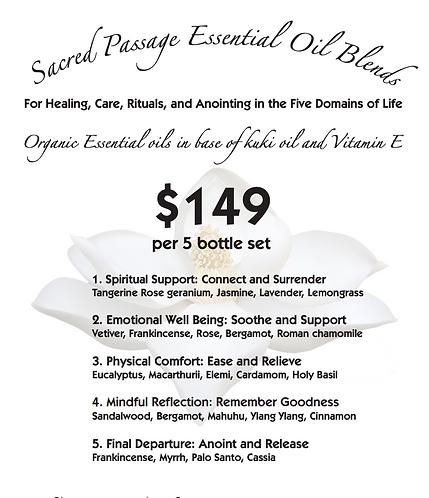 Sacred Passage Essential Oil Set