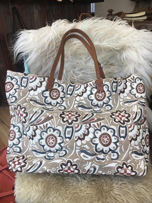 Coimbra Embroidered Tote