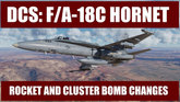 Rockets & Cluster Bomb Changes