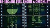 Fuel, ADI, Engine & Checklist Pages