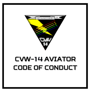 CVW-14 Aviator Code of Conduct Tile