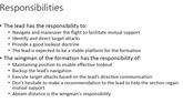 Wingman Responsibilities