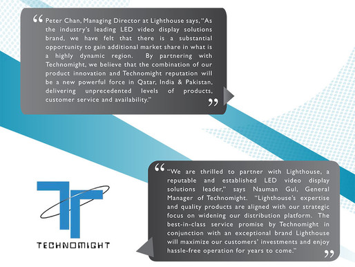 Lighthouse signs new and exclusive distribution agreement with Technomight