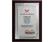 11 2012年度中国LED照明应用百强企业奖牌.JPG