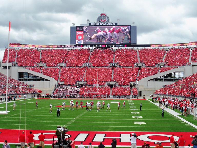 Ohio Stadium - Home of Ohio State Buckeyes Football