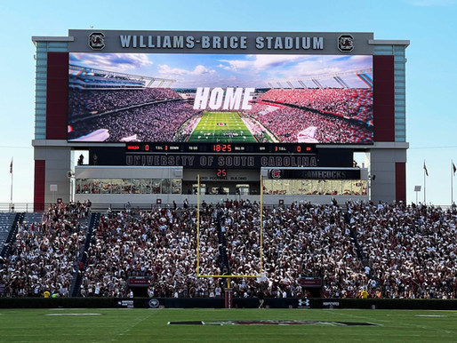 Lighthouse Technologies Elevates Fans Excitement at Williams-Brice Stadium of South Carolina