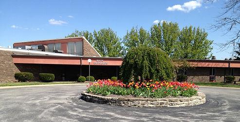 Main entrance of OVM