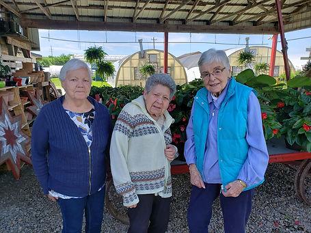Off Campus Outing - Aggie, Martha, Mitzi