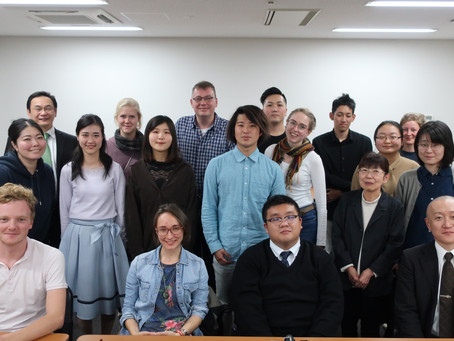 Meeting at Ryukoku University