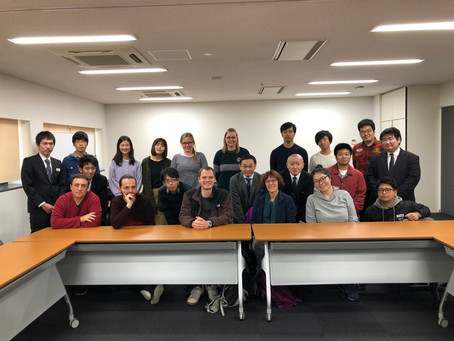 Inter-religious dialogue w/ Students of Ryukoku university