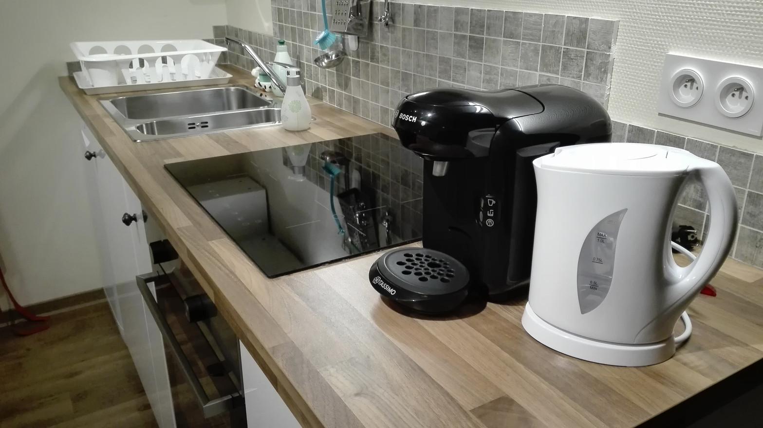 kitchenette équipée