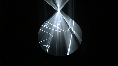 Audiovisual Installation, light installation, video, sound, generative