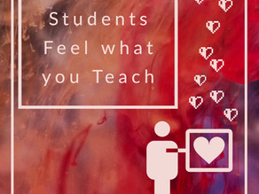 Students Feel What you Teach